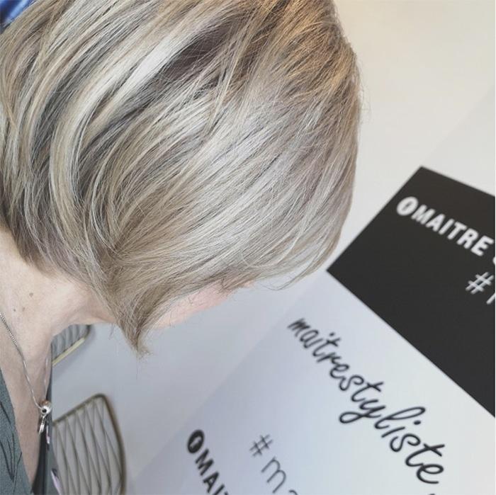 Maitre Styliste Coloration Couleur Blond Coupe Realisations